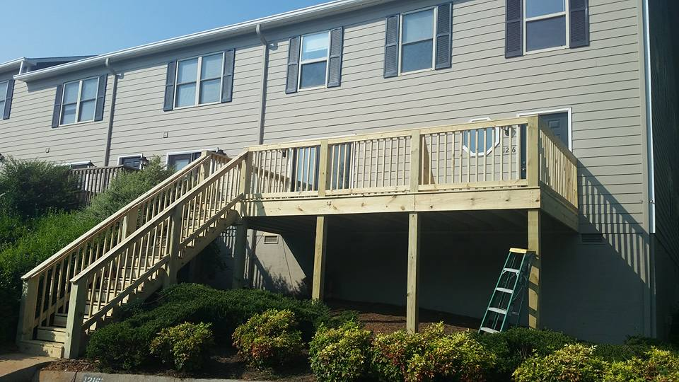 Deck Construction for Apartments